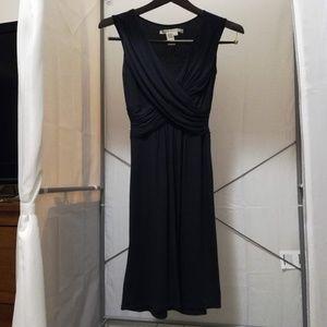 Black Empire Waist Midi Dress by Max Studio